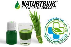 weizengrassaft-zertifikat-gutachten